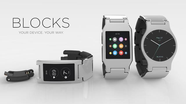 Modulaire smartwatch Blocks krijgt aangepaste versie van Android