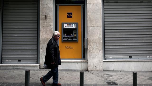 Sterke krimp Griekse economie in vierde kwartaal