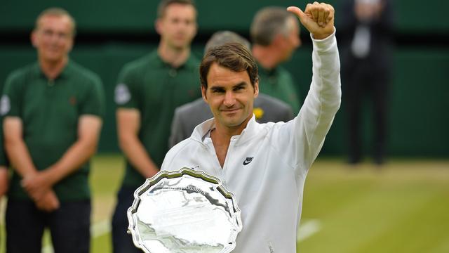 Federer noemt Djokovic 'terechte winnaar' Wimbledon-finale