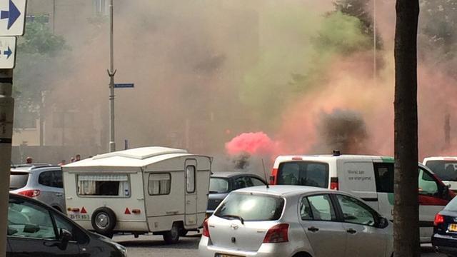 NEC-fans leggen verkeer plat in actie tegen afgelaste wedstrijd