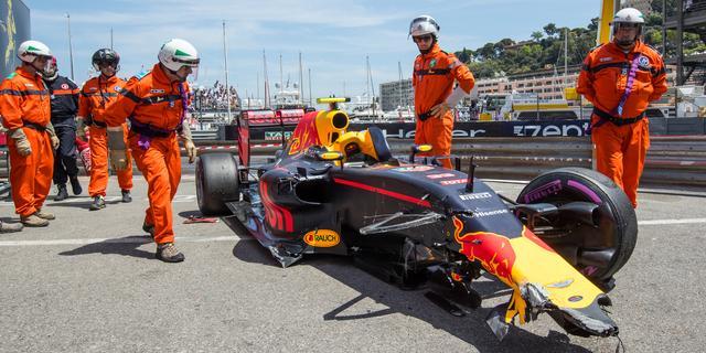 Verstappen moet Grand Prix Monaco beginnen vanuit pitstraat