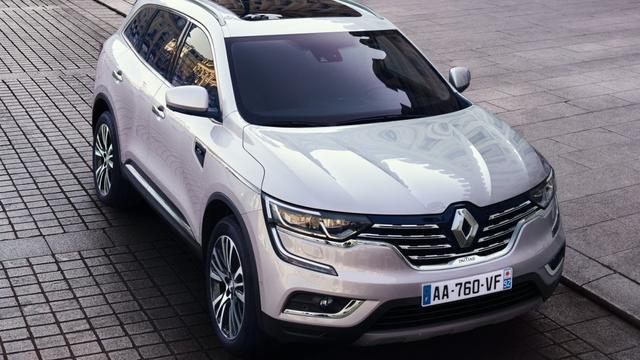 Renault maakt prijzen grootste SUV Koleos bekend