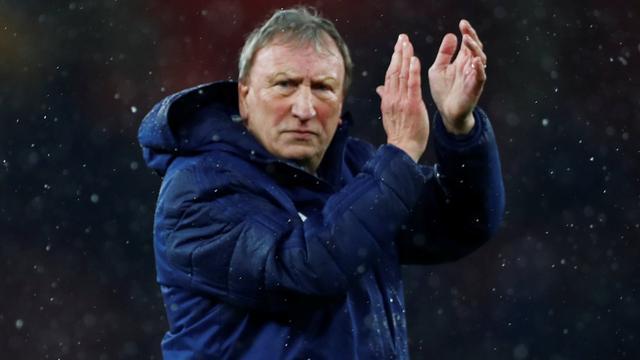 Cardiff-coach Warnock trots op spelers na eerste duel sinds vermissing Sala