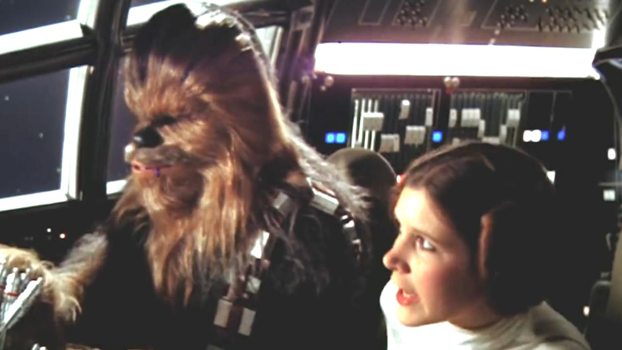 Chewbacca voor het eerst te zien in trailer originele Star Wars
