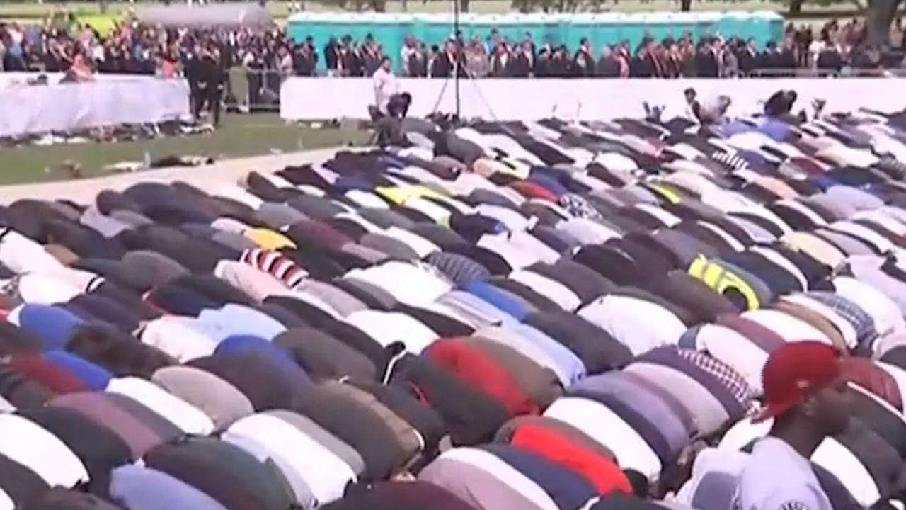 Duizenden Nieuw-Zeelanders bidden voor slachtoffers aanslag