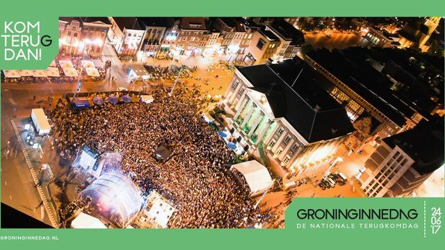 Groninginnedag wordt reünie voor iedereen die wat met Groningen heeft