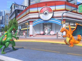 Spelers kunnen met 16 speelbare Pokémon tegen elkaar vechten