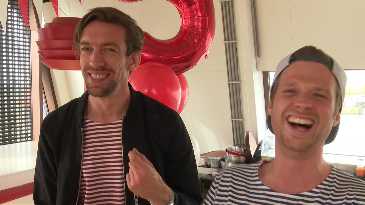 Mattie en Wietze zijn vijf dagen geboeid: 'Kwestie van goede afspraken'