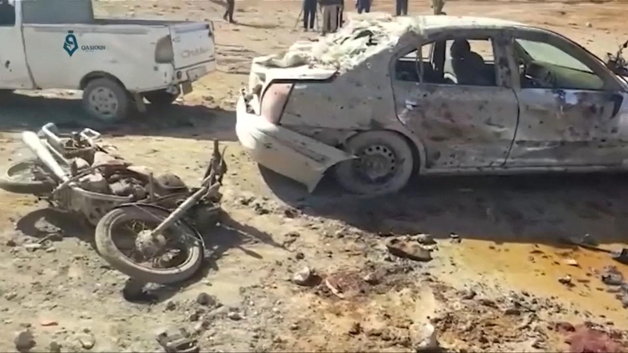 Autobom ontploft in Syrische stad al-Bab
