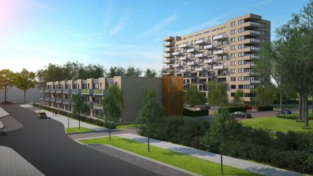 Nieuw ontwerp voor bouwproject De Kyker