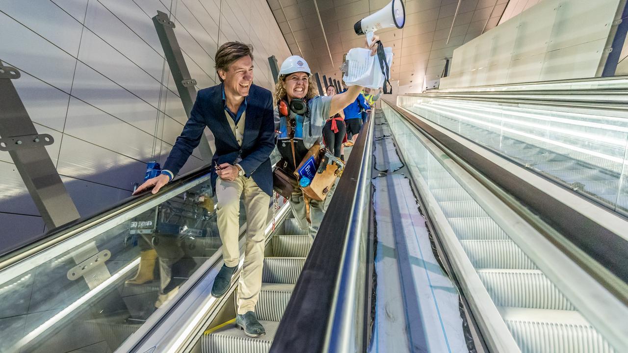 Bouw metrostation Noorderpark vastgelegd in timelapse