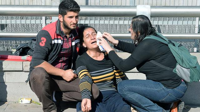 Erdogan beschuldigt IS, PKK en Syrië van aanslag Ankara