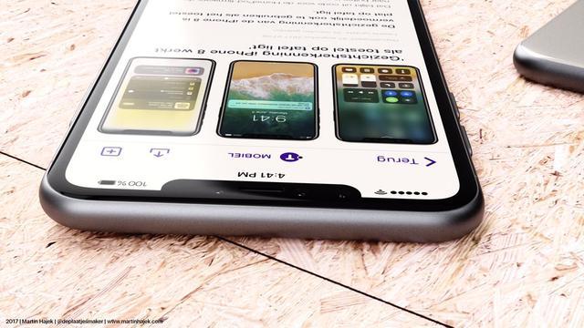'iPhone zonder inkeping boven scherm gepland voor 2021'