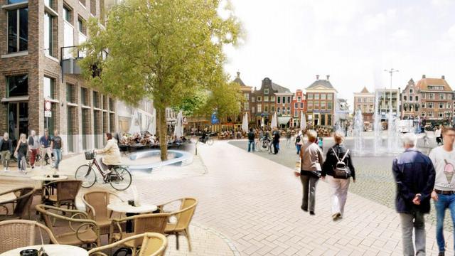 Grote Markt tijdelijk busvrij, Groningen test nieuwe fietsroutes