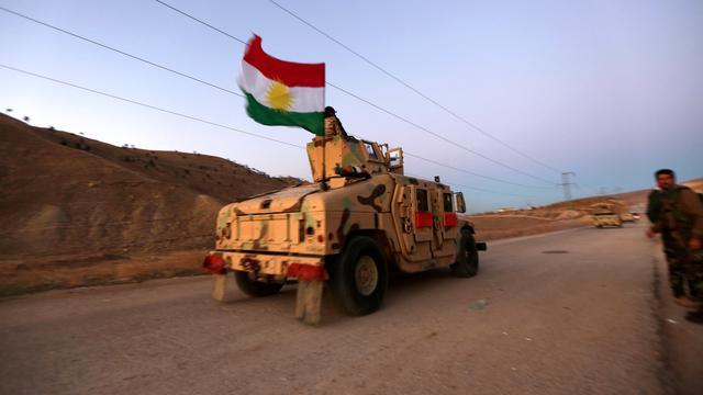 'Koerdische troepen veroveren opnieuw stad nabij Mosul op IS'