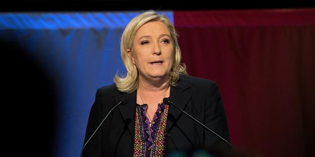 Onderzoek naar Le Pen na tweets IS-onthoofding