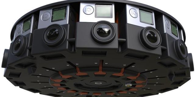 Inschrijving voor 360 graden-cameraset Odyssey geopend