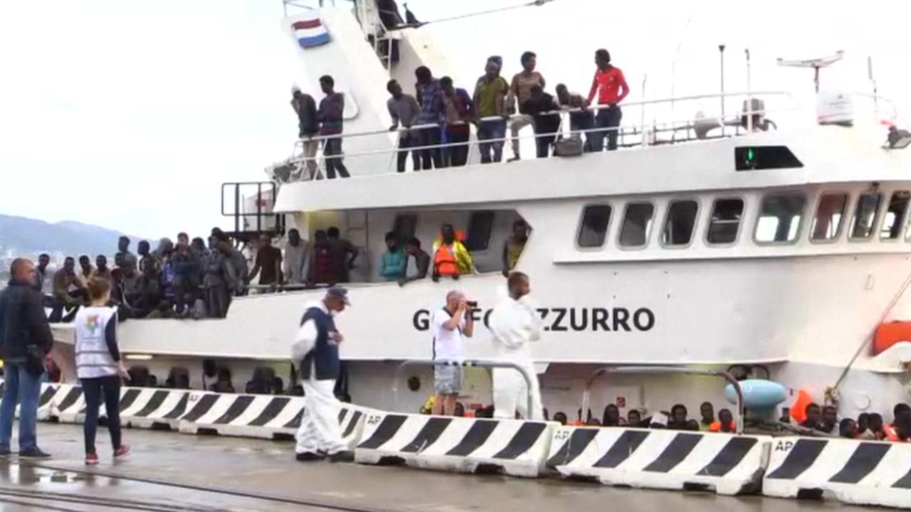 Italiaanse kustwacht redt duizenden vluchtelingen