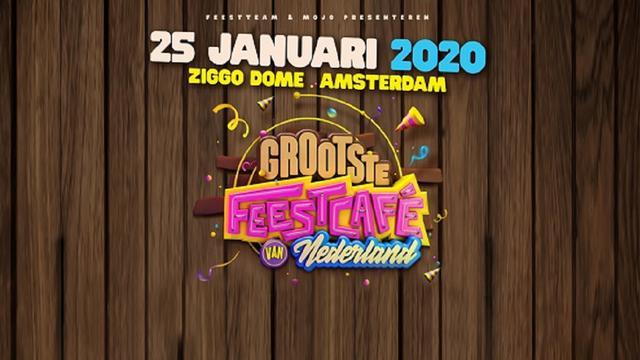 Korting op tickets voor 'Het Grootste Feestcafé van Nederland' in Ziggo Dome