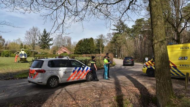 Meerdere gewonden door op hol geslagen paard op Overaseweg