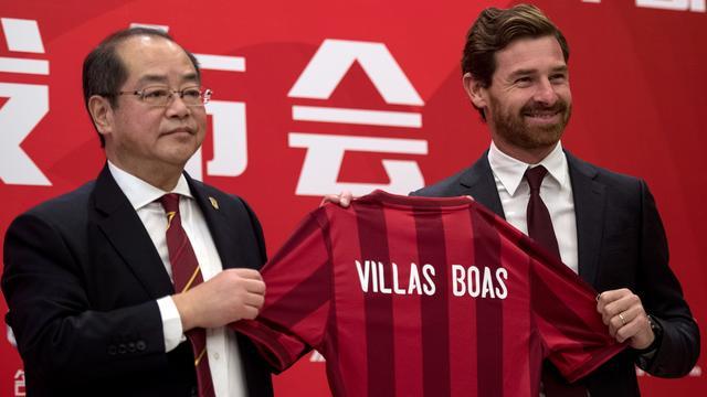 Villas-Boas tekent voor 12 miljoen per jaar in China