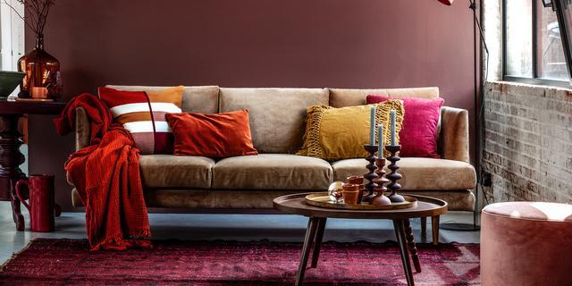 Winterproof interieur: 'Buiten wordt het grauw, compenseer met warm kleurpalet'