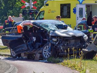 Man raakte bekneld bij ongeval