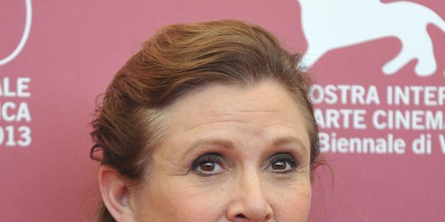 Star Wars-objecten van Carrie Fisher worden geveild