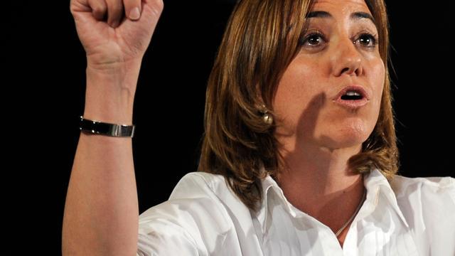 Eerste vrouwelijke Spaanse minister van Defensie Carmen Chacón (46) overleden