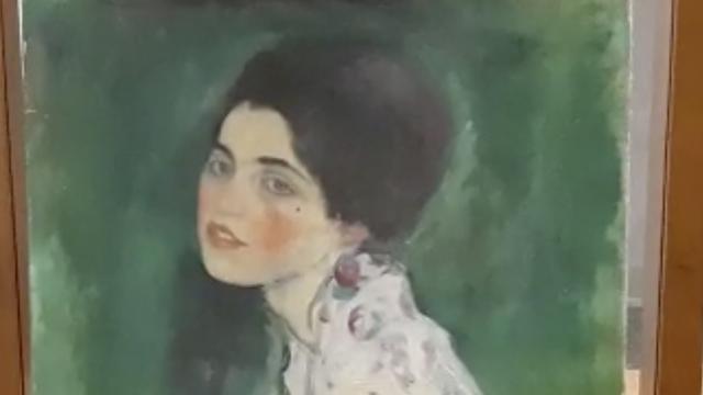 'Verdwenen schilderij Klimt teruggevonden tussen muren Italiaans museum'