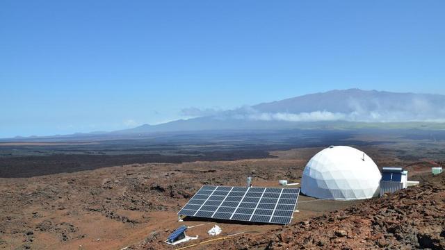 NASA-onderzoekers volbrengen 'Marsmissie' op Hawaï