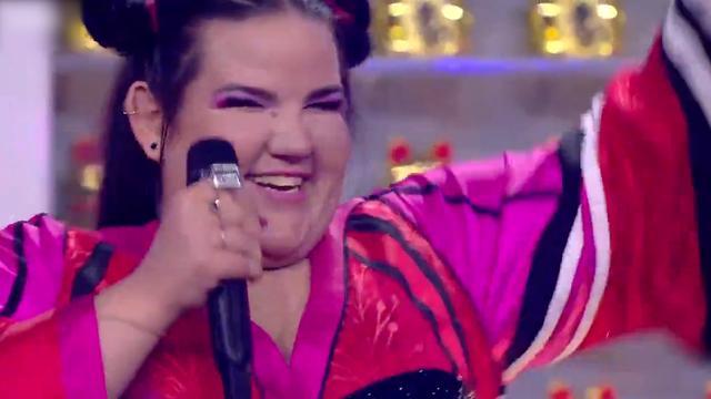 Emotionele songfestivalwinnares Netta uit Israël bedankt publiek
