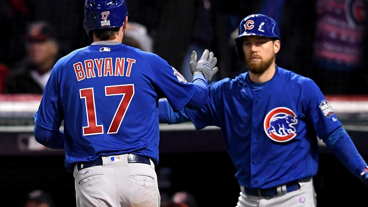 Chicago Cubs brengt stand in World Series in evenwicht