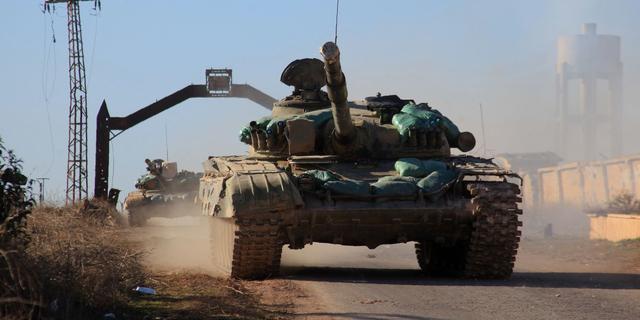 Leger Syrië rukt ook in het zuiden van het land op