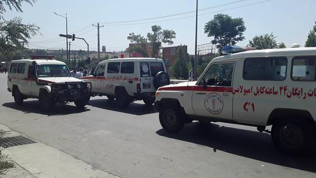 Zeker 100 gewonden, onder wie 51 kinderen, door zware aanslag Kabul