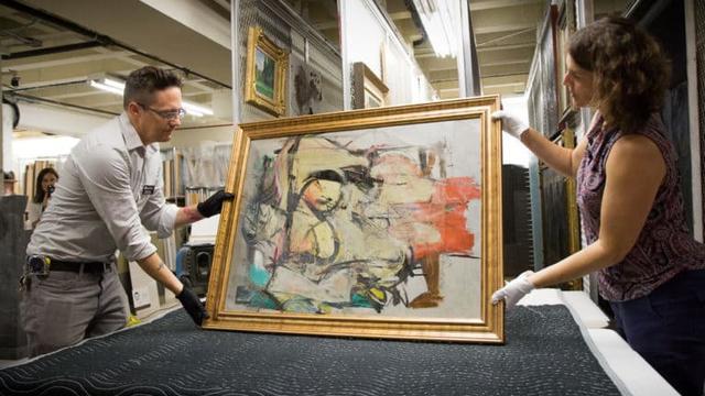 Amerikaans stel zit mogelijk achter diefstal duur schilderij De Kooning