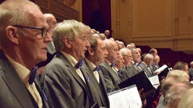 Grootste mannenkoor van Nederland geeft concert in Leiden