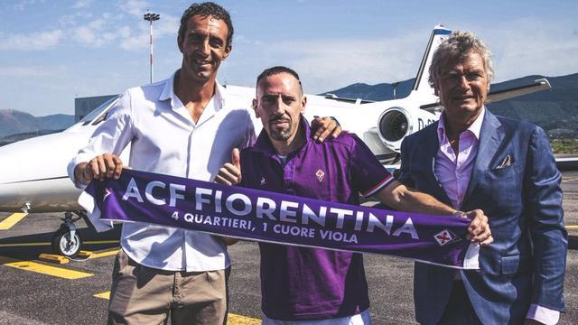 Transfervrije Ribéry (36) tekent na twaalf jaar Bayern voor Fiorentina