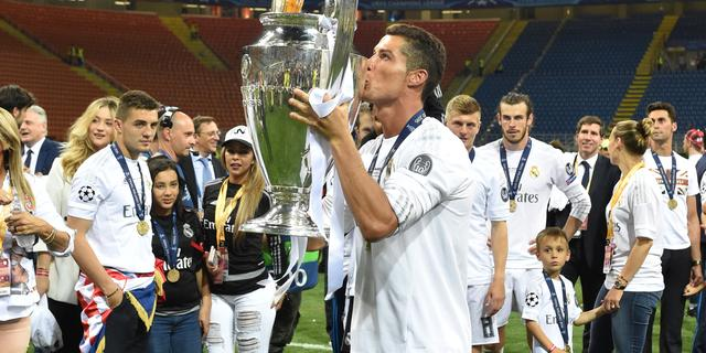 Ronaldo kende geen enkele twijfel bij beslissende penalty