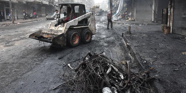 Strijdende partijen Syrië bereiken wapenstilstand