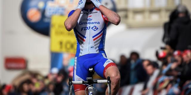 Küng soleert naar fraaie zege in tweede etappe Ronde van Romandië