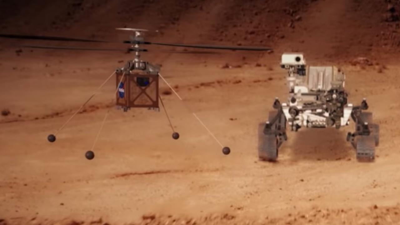 NASA-helikopter is klaar voor reis naar Mars