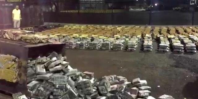 Colombiaanse politie onderschept zes ton cocaïne