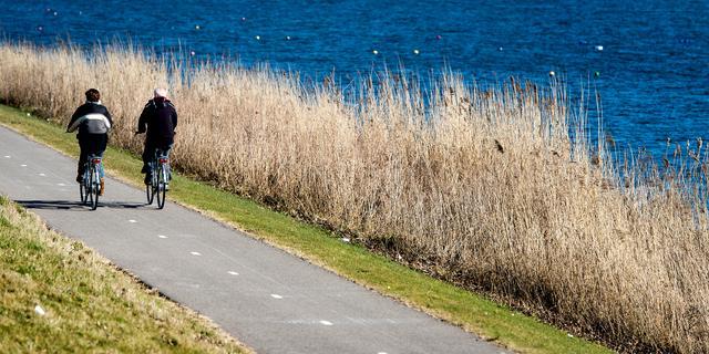'Nederlanders bewegen twee keer zo veel als andere Europeanen'