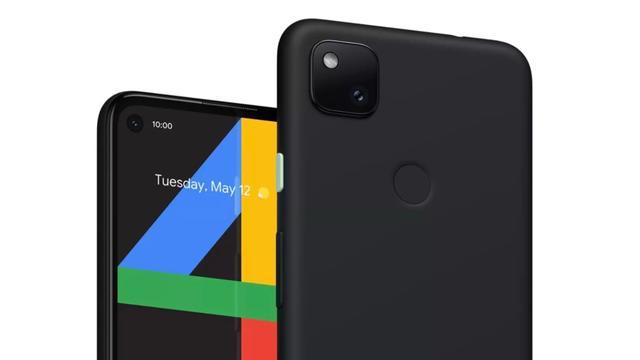 Google liet kort foto van budgettelefoon Pixel 4a in webshop zien