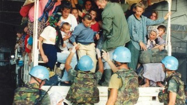 Coen Verbraak interviewt Nederlandse veteranen over de val van Srebrenica