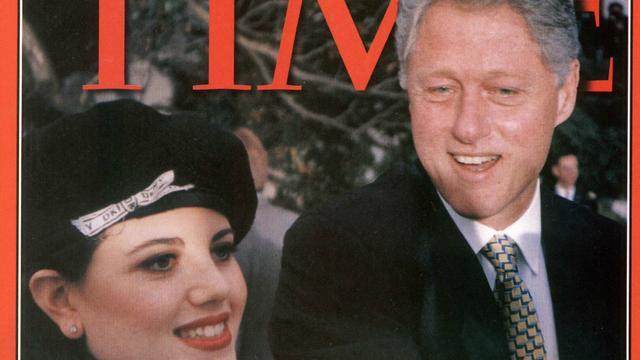Lewinsky-affaire twintig jaar geleden: Bill Clinton in het nauw