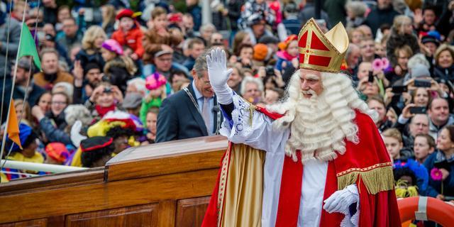 Sinterklaas komt aan in Meppel
