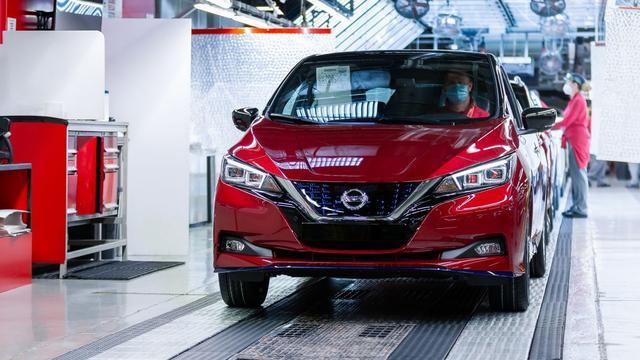 Nissan Leaf bereikt productiemijlpaal van half miljoen stuks