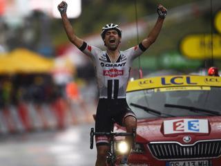 Nederlander wint zijn eerste Touretappe stromende regen